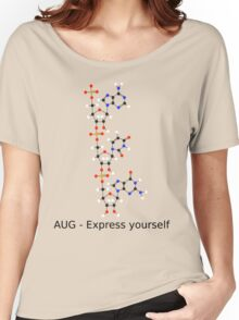 Express Yourself with AUG Women's Relaxed Fit T-Shirt