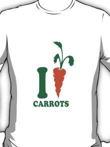 I love carrots carrots logo T-Shirt