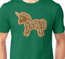 Gingerbread Unicorn Unisex T-Shirt