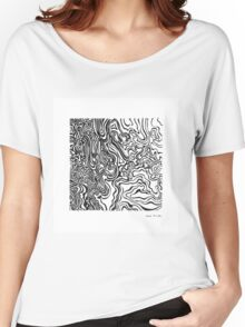 LINE : Optical Zoom Women's Relaxed Fit T-Shirt