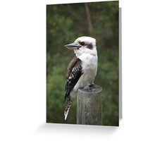 The Pole Sitter. Greeting Card