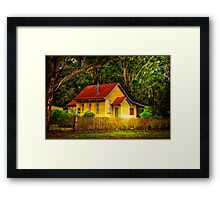 Home.... Framed Print