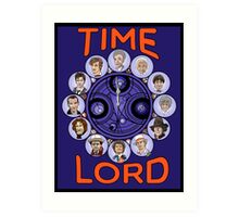 Time Lord - doctor who Art Print