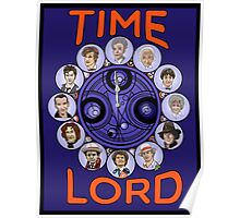 Time Lord - doctor who Poster