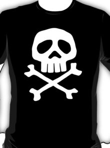 Captain Harlock Shirt (Danzig's Misfits shirt from Walk Among Us) T-Shirt