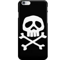 Captain Harlock Shirt (Danzig's Misfits shirt from Walk Among Us) iPhone Case/Skin