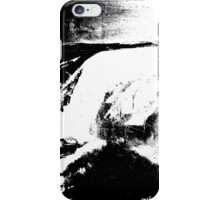 abstract lanscape black white iPhone Case/Skin
