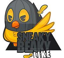 Sneaky Beaky Like by sighlo
