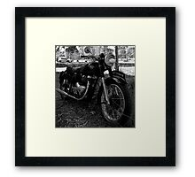 1953 Matchless G9 Framed Print