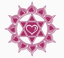 Anahata Heart Chakra Centre Of Love & Compassion Kids Clothes