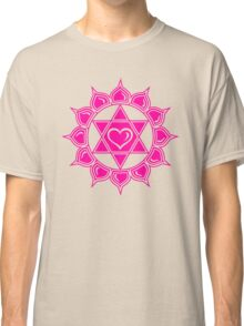 Anahata Heart Chakra Centre Of Love & Compassion Classic T-Shirt