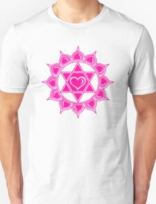 Anahata Heart Chakra Centre Of Love & Compassion Unisex T-Shirt