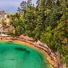 Miner's Castle at Pictured Rocks by Kenneth Keifer