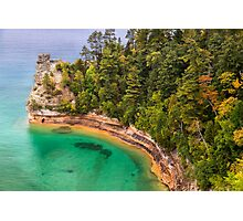 Miner's Castle at Pictured Rocks Photographic Print