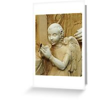 Angel & Dragonfly Greeting Card