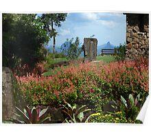 Country garden Poster