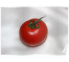 Juicy Red Tomato Poster