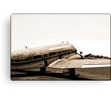 The Old DC3 Canvas Print