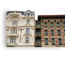 Viennese Art Nouveau Canvas Print