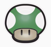 Mushroom-Green One Piece - Long Sleeve