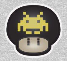 Mushroom-Invaders Kids Tee