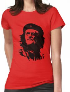 Che Corbyn - Jeremy Corbyn and Che Guevara political mash-up tshirt | Labour party leader Womens Fitted T-Shirt