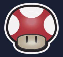 Mushroom-Red Kids Tee