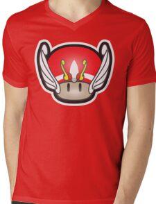 Mushroom-Seya Mens V-Neck T-Shirt