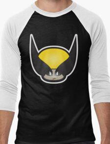 Mushroom-Wolvi Men's Baseball ¾ T-Shirt