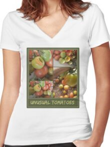 unusual Women's Fitted V-Neck T-Shirt