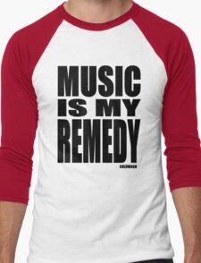 MUSIC IS MY REMEDY Men's Baseball ¾ T-Shirt