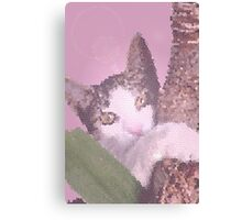 In the pink jungle Canvas Print