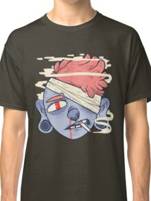 ciggie butt brain Classic T-Shirt