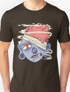 ciggie butt brain T-Shirt