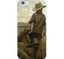 Now I only need a horse... (Free State, South Africa) iPhone Case/Skin