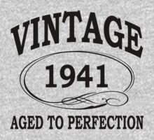 vintage 1941 aged to perfection by diannasdesign