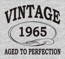 vintage 1965 aged to perfection by diannasdesign