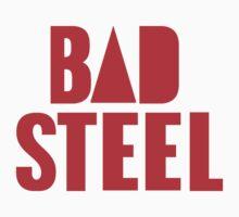 BAD STEEL (as seen on Bastille's albums, staff, etc.) by badsteel