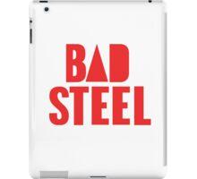 BAD STEEL (as seen on Bastille's albums, staff, etc.) iPad Case/Skin