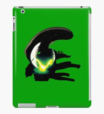 alien pop culture silhouette iPad Case/Skin