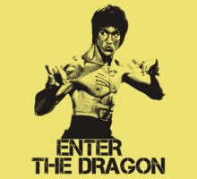 Bruce Lee … Enter the Dragon … Black by OliveB