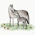 Mare & Foal by Sophie Corrigan