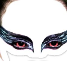 Black Swan face Sticker