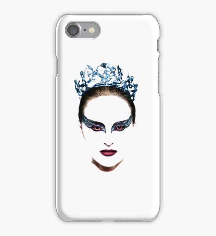 Black Swan face iPhone Case/Skin