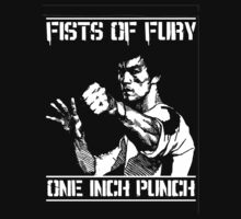 Bruce Lee … One Inch Punch by OliveB