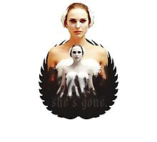 Black Swan sweet girl Photographic Print