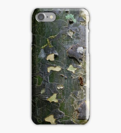 Textures - Tree bark, Mt Mee iPhone Case/Skin