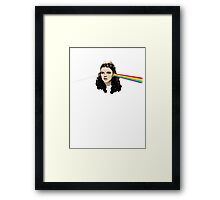 Dark side of the Rainbow Framed Print
