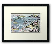 Vintage Leaving the Opera in the Year 2000 Framed Print