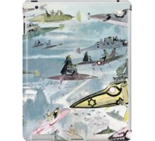 Vintage Leaving the Opera in the Year 2000 iPad Case/Skin